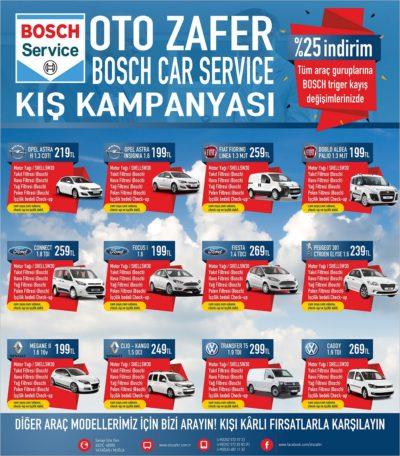 kiş kampanyası yağ değişimi araç bakımı servis